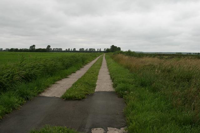 ein Panzerplattenweg