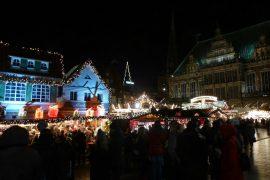 Bremen - mit dem Wohnmobil zum Weihnachtsmarkt