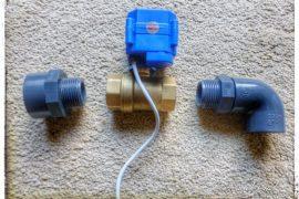 elektrisches Abwasserventil beim Kastenwagen montieren
